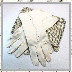 Vntg 1950-1960's White Gloves